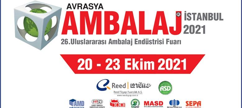 20 – 23 Ekim 2021 Uluslararası Avrasya Ambalaj Fuarı