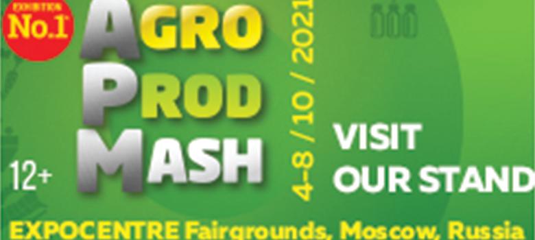 4 - 8 Ekim 2021 Rusya Agroprodmash